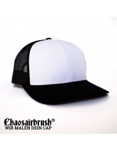 Baseball Cap mit Name Kappe mit Namen Hip Hop Basecap Schwarz Black Gray